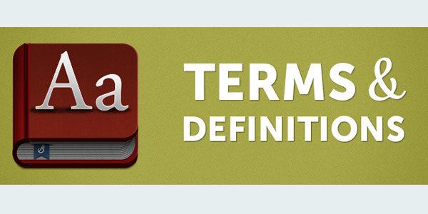 Определение на термините