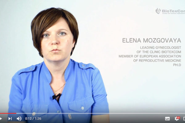 BioTexCom Dr Elena Mozgovaya gives her brief overview about embryo transfer