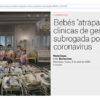 """Бебетата са """"заседнали"""" в клиники за сурогатно майчинство поради коронавирус"""